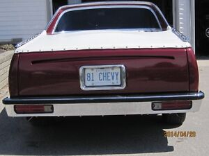 1981 CHEVROLET EL CAMINO  ( NO TRADES ) Cambridge Kitchener Area image 6