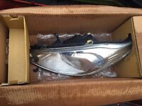 2012 Ford ka headlight