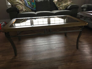 Coffee table/end tables