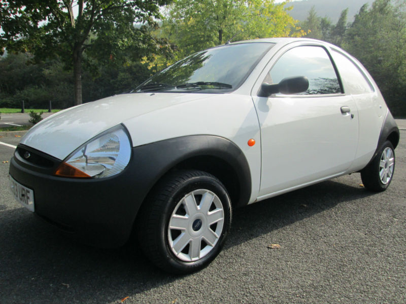 Ford Ka Van In White With Only  Miles P X