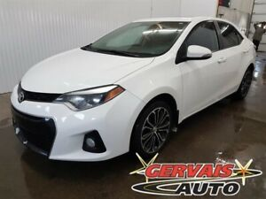 Toyota Corolla S Toit Ouvrant Mags Cuir/Tissus Bluetooth 2015