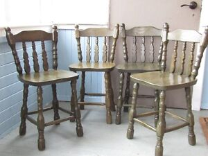 EXCELLENT OAK DINING CHAIRS