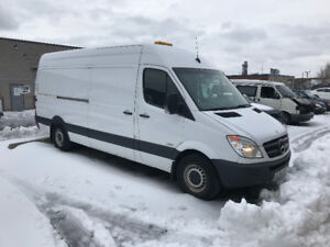 2013 Mercedes-Benz Sprinter 2500 VAN MOBILE TIRE SERVICE TRUCK
