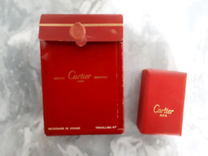 Briquet CARTIER PLAQUÉ OR 18K - VINTAGE