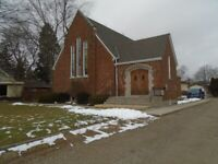 LARGE LOT WITH SMALL CHURCH IN TILLSONBURG EXC.LOCATION