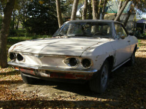 "1966 2dr Corvair 4 speed manual   ""complete"" for project."