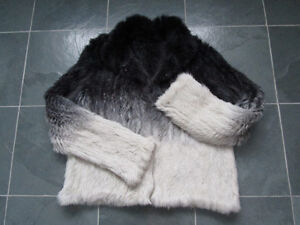 Tricot vraie fourrure lapin NEUF / Real Rabbit Fur Knit NEW