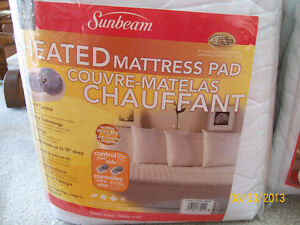 Sunbeam Heated Mattress Cover / Pad - Double/Full - Brand New Kawartha Lakes Peterborough Area image 1