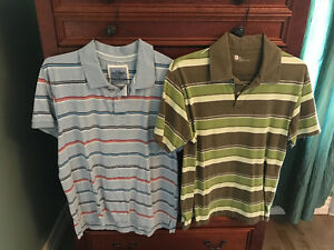 All shirts medium and large in new condition