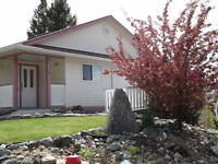 REDUCED-EXECUTIVE HOME WITH SUITE (wheel-chair access)Logan Lake