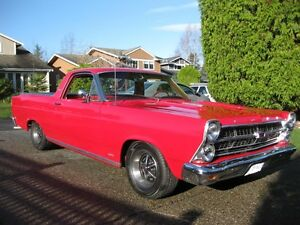 1966 ford ranchero -nice cruiser