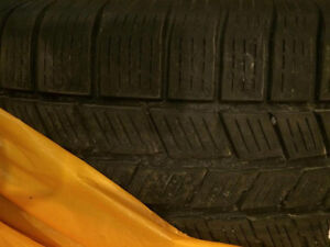 Pirelli Scorpion Winter Tires With Mags & All 4 Emblems.