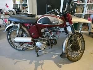 1968 Yamaha 50cc (upgraded to 110cc)