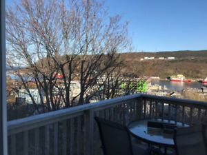 1 bedroom, furnished/equipped downtown, St. John's Hr view