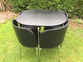 Stowaway table and chairs