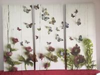 Large Butterfly Canvas Wall Pictures