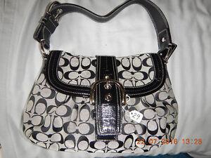 Genuine COACH Signature Women's Handbag