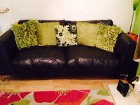 Leather sofas for sale 3 seater + 2 seater