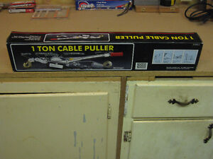 ONE TON CABLE PULLER