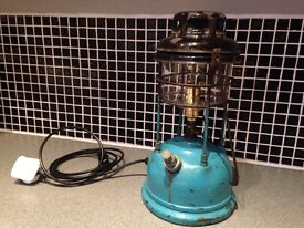Converted Tilley lamp