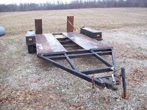 tandem axle car trailer for sale