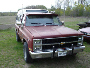 Looking for parts for 81 Chevy Scottsdale