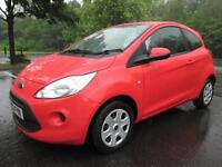 11/61 FORD KA EDGE 1.2 3DR HATCH IN SUNRISE RED WITH ONLY 50,000 MILES
