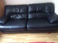 3seater sofa, 2seater sofa and pouffe