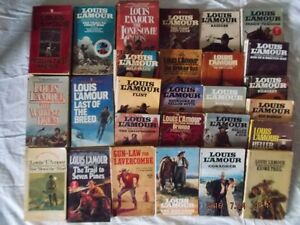 Louis L'Amour Books SACKETS  for sale  lot 15