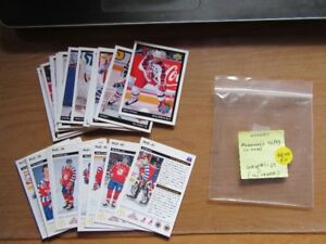 HOCKEY CARDS - MCDONALD'S - MULTIPLE SETS - REDUCED!!!!