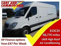 2012 MERCEDES BENZ SPRINTER LWB 313 High Roof Air Con