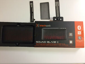 New Bluethoot speaker - Blackweb sound blade 2