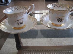 Royal Albert Anniversary Tea Cup/ Saucer Sets $5/set Kitchener / Waterloo Kitchener Area image 2