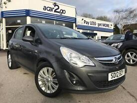 2012 Vauxhall CORSA SE Manual Hatchback