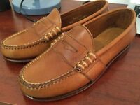 Ralph Lauren Leather loafers tan sz4.5