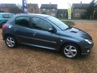 Peugeot 206 1.6HDi 110 2005MY Sport Full Mot 7 Service stamps