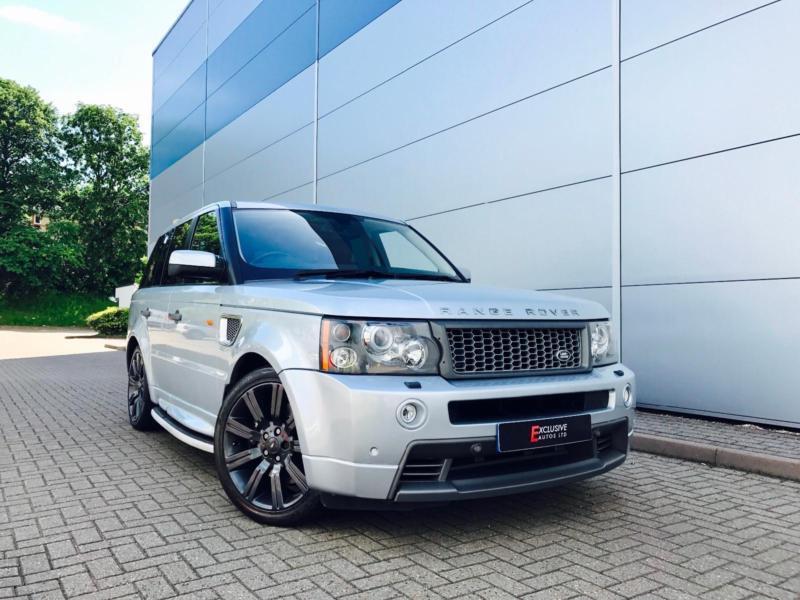 2006 56 Land Rover Range Rover Sport HST 42 V8 Supercharged  TVs
