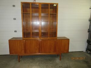 danish teak dining room set estate sale