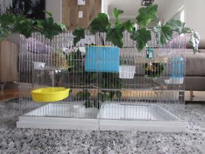 Cage double de style Jovaco