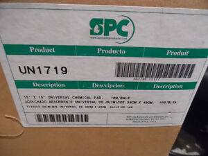 Oil Hazardous Waste Clean up SPC UN1719 Box of 100  Universal C Kitchener / Waterloo Kitchener Area image 3