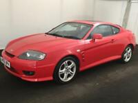 HYUNDAI COUPE 2.0 SE 2005..ONE OWNER..LONG MOT..LOOKS GOOD>DRIVES SUPERB