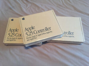 Accessoire Apple IIe controller disquettes 5.25 neuf emballé