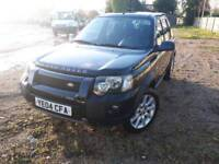 LEFT HAND DRIVE Land Rover Freelander V6 Automatic 2004 LHD not Honda Jeep Toyota Nissa