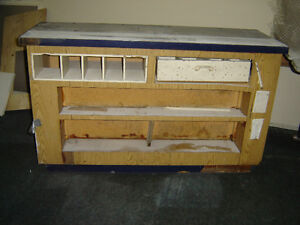 $150 · Used wood counter for the store with some shelves Regina Regina Area image 5