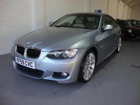 BMW 320D 2.0TD M Sport Highline Coupe, 6-Spd, 2010, 64k FBMWSH, Bluewater Met