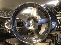"18"" KLUTCH alloy wheels Alloys Rims BMW vw Volkswagen transporter t5 5x120 vauxhall insignia"