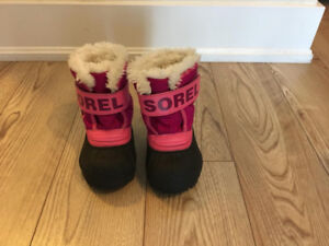 SOREL - Toddler Snow Commander Boot - size 4