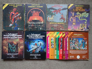 WANTED Dungeons & Dragons + Other Roleplaying Games RPG old new