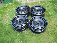 """15"""" steel rims for sale (5 x100)"""