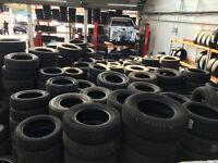 50 part worn tyres all good quality